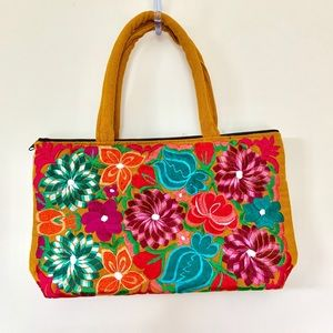 Mexican embroidered purse from Oaxaca NWOT